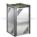 Müllbehälterschrank VAR MBS 8 Erweiterungselement Edelstahl