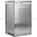 Müllbehälterschrank VAR Mülltonnenbox Edelstahl 120 L