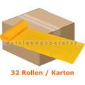 Müllbeutel Abena Saekko Boy 40 L gelb 10 Stück/Rolle Karton