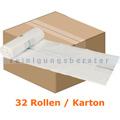 Müllbeutel Abena Saekko Boy 40 L weiß 10 Stück/Rolle Karton