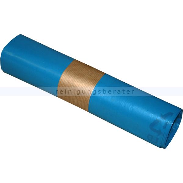 Müllbeutel blau 30 L 30 my (Typ 60), 25 Stück/Rolle