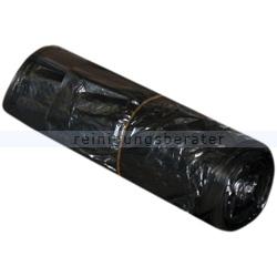 Müllbeutel grau 30 L 6 my, 50 Stück/Rolle