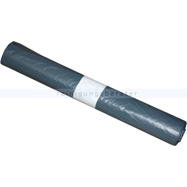 Müllbeutel grau 60 L 16 my (Typ 20), 20 Stück/Rolle
