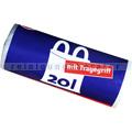 Müllbeutel mit Tragegriff 20 L 8 my, 40 Stück/Rolle