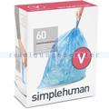Müllbeutel Simplehuman code V, Pack mit 20 Stück, 16-18 L