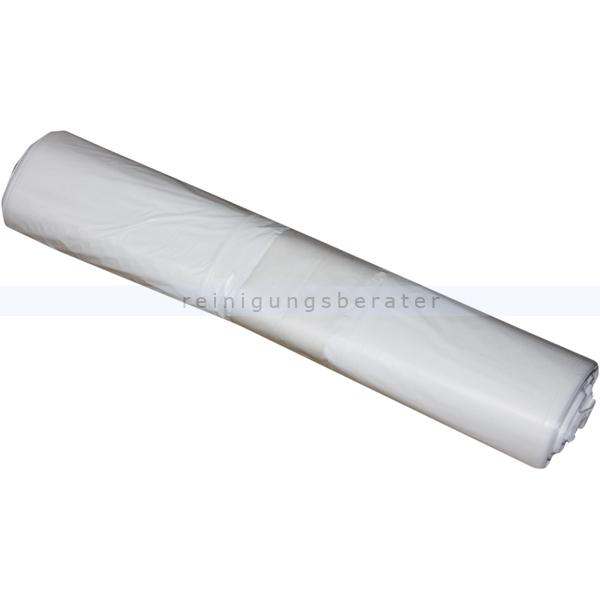 Müllbeutel weiß 30 L 16 my (Typ 20), 50 Stück/Rolle