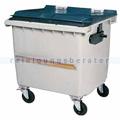 Müllcontainer Rossignol Korok 1000 L Kunststoff mit Schiene