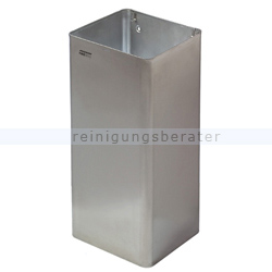 Mülleimer Abfallbehälter Edelstahl 80 L offen
