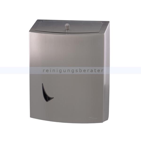 wings abfallbeh lter 9 liter edelstahl mit push deckel. Black Bedroom Furniture Sets. Home Design Ideas