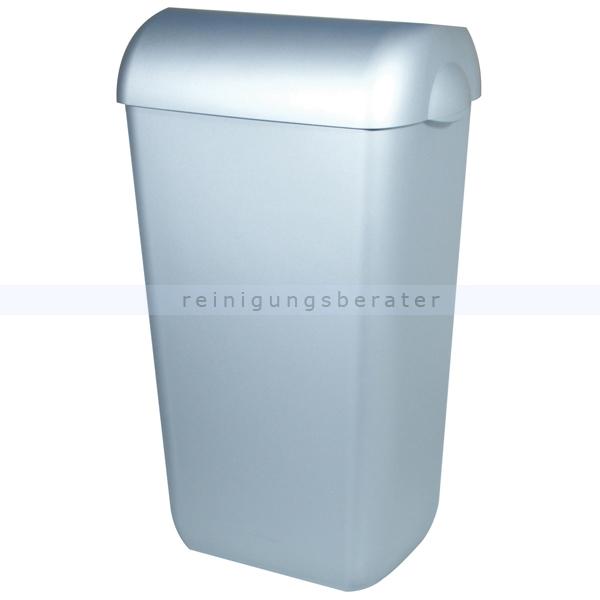 rechteckig 23 Liter Papierkorb aus weißem Kunststoff