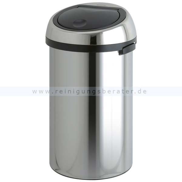 m lleimer brabantia touch bin edelstahl 50 l. Black Bedroom Furniture Sets. Home Design Ideas