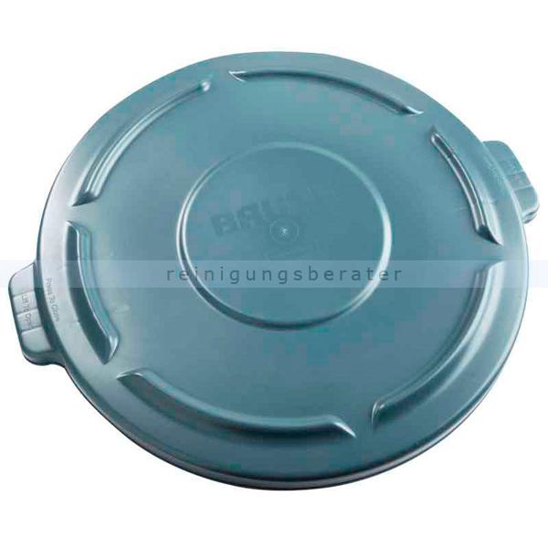 Mülleimer Deckel Rubbermaid grau für 76 L