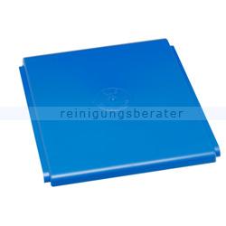 Mülleimer Deckel VAR für Kunststoffcontainer 60 L blau