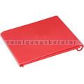 Mülleimer Deckel VAR für Kunststoffcontainer 60 L rot
