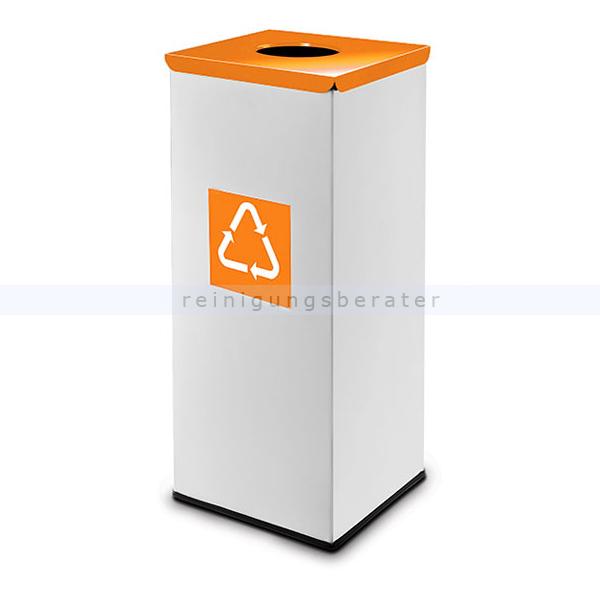 easybin eco flex 50 l silber orange recycling m lleimer. Black Bedroom Furniture Sets. Home Design Ideas