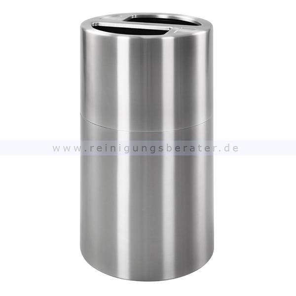 m lleimer eko recycling abfallbeh lter 2 x 50 l aluminium. Black Bedroom Furniture Sets. Home Design Ideas