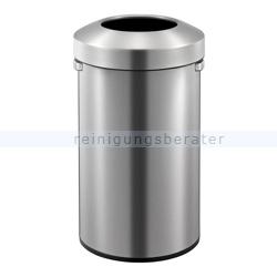 Mülleimer EKO Urban Bin Edelstahl matt 90 Liter