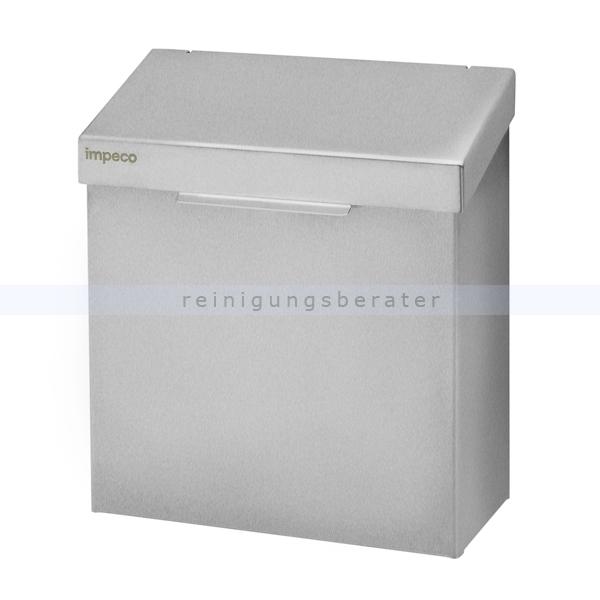 Mülleimer Impeco Hygiene Abfallbehälter Edelstahl 4,2 L