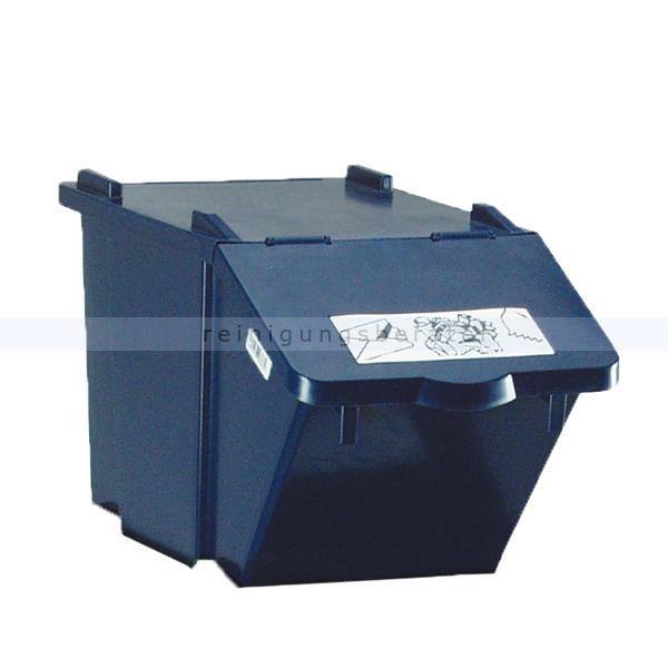 m lleimer knapsack recycling box mit deckel blau 45 l. Black Bedroom Furniture Sets. Home Design Ideas