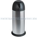 Mülleimer Meliconi Swing edelstahl-schwarz 40 L