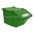 Mülleimer NordSüd Oekonom Abfallbehälter mit Deckel 40 L grün