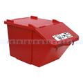 Mülleimer NordSüd Oekonom Abfallbehälter mit Deckel 40 L rot