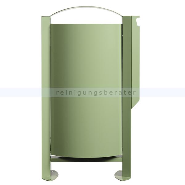 arkea m lleimer rossignol 60 l mit ascher 3 l resedagr n. Black Bedroom Furniture Sets. Home Design Ideas