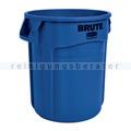 Mülleimer Rubbermaid Brute Container blau 76 L