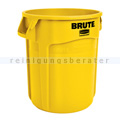 Mülleimer Rubbermaid Brute Container gelb 76 L