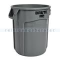 Mülleimer Rubbermaid Brute Container grau 38 L