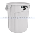 Mülleimer Rubbermaid Brute Container weiß 38 L