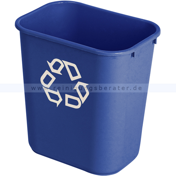 Mülleimer Rubbermaid Rechteckig Abfallbehälter 26,6 L
