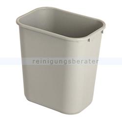 Mülleimer Rubbermaid Rechteckiger Abfallbehälter 26,6 L Grau