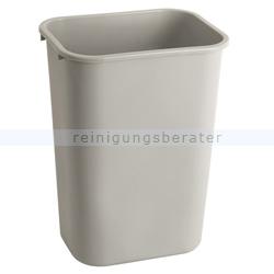 Mülleimer Rubbermaid Rechteckiger Abfallbehälter 39 L Grau