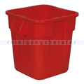 Mülleimer Rubbermaid Viereckiger Brute Container 106 L rot