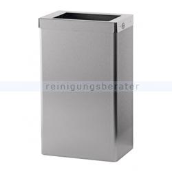 Mülleimer SanTRAL Abfallbehälter halboffen 22 L Edelstahl
