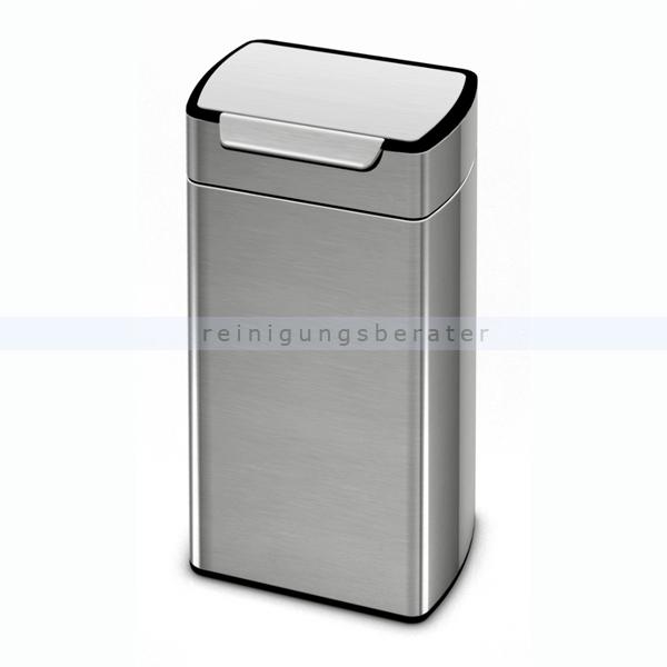 Mülleimer Simplehuman rechteckig Touch-Bar Bin 30 L