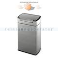 Mülleimer Simplehuman rechteckig Touch-Bar Bin 40 L B-WARE