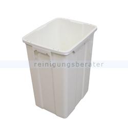Mülleimer TTS Kunststoffbehälter MAX 25 L weiß