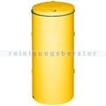 Mülleimer VAR Abfallsammler kompakt Doppeltür 120 L gelb