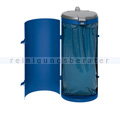 Mülleimer VAR Kompakt Junior Abfallsammler 120 L enzianblau