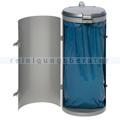 Mülleimer VAR Kompakt Junior Abfallsammler 120 L silber