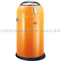 Mülleimer Wesco Kneasy 38 L orange