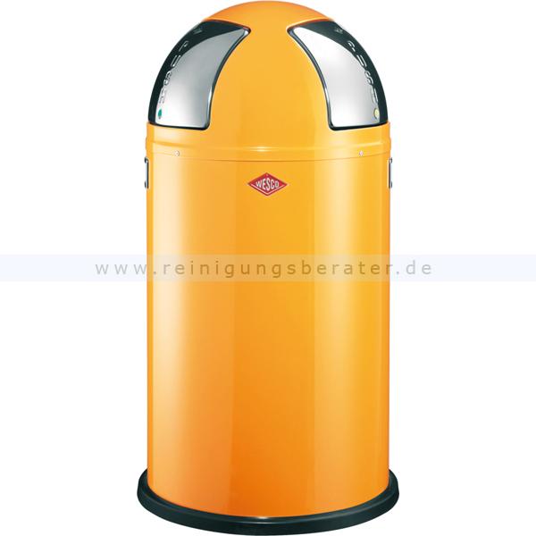 abfalleimer push two 50l orange preisvergleich sonstiges. Black Bedroom Furniture Sets. Home Design Ideas
