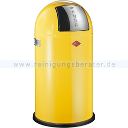 Mülleimer Wesco Pushboy 50 L lemonyellow