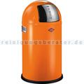 Mülleimer Wesco Pushboy Junior 22 L orange