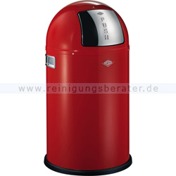 Mülleimer Wesco Pushboy Junior 22 L rot