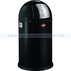 Mülleimer Wesco Pushboy Junior 22 L schwarz