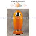 Mülleimer Wesco Spaceboy Rakete XL 35 L orange B-WARE