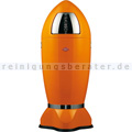 Mülleimer Wesco Spaceboy XL orange 35 L